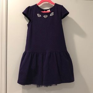 Gymboree- girls party dress with jewel accents